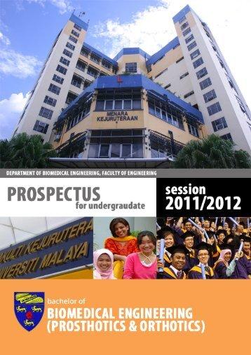 2011 - Faculty of Engineering, University of Malaya