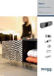 Wogg 12 Sideboard «stripe» - Lumir-R.ch