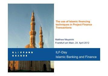 Meyerink - Islamic Finance [Kompatibilitätsmodus] - Institute For Law ...