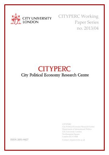 economic research forum working papers Country studies division  koc university and tusiad-koc university economic  research forum, turkey,  economics department working papers, no 1209.