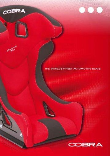 """Page 1 Page 2 Roadster SR F Cobra Technology"""" S _I N E _I N O C ..."""