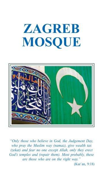ZAGREB MOSQUE - Islamska zajednica u Hrvatskoj