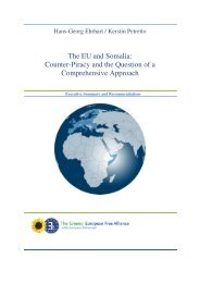 The EU and Somalia: Counter-Piracy and the Question of a ...
