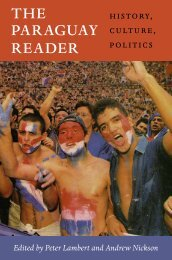 THE PARAGUAY READER - Duke University Press