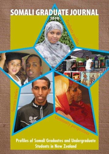 SOMALI GRADUATE JOURNAL - Wellington Somali Council
