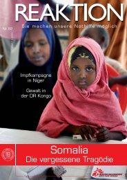 Somalia - Médecins Sans Frontières Suisse