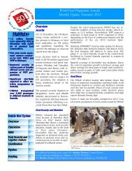 Highlights Highlights - WFP Remote Access Secure Services