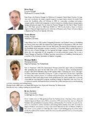 Peter Berg Practice Manager McKinsey & Company. Sweden - PRIMA
