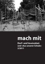 Mach Mit 2/2011 - Gemeinde Gebenstorf