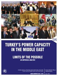 TURKEY'S POWER CAPACITY IN THE MIDDLE EAST - USAK
