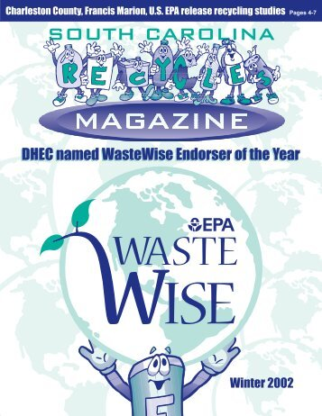 DHEC named WasteWise Endorser of the Year - P2 InfoHouse