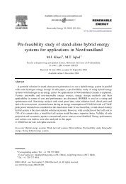 Pre-feasibility study of stand-alone hybrid energy systems ... - MWFTR