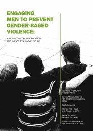 engaging men to prevent gender-based violence - Promundo
