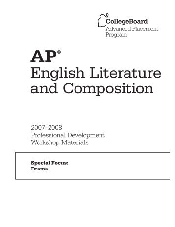 AP English Literature Course Guide - North Salem Central School ...