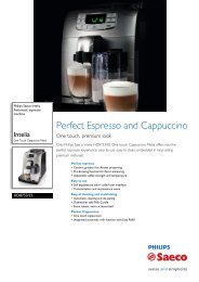 HD8753/25 Philips Automatic espresso machine