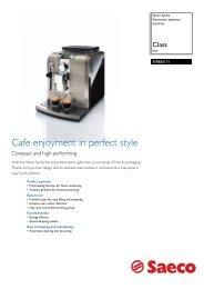 RI9836/11 Saeco Automatic espresso machine - Philips