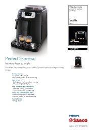 HD8751/88 Philips Automatic espresso machine