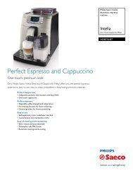 HD8753/87 Philips Automatic espresso machine