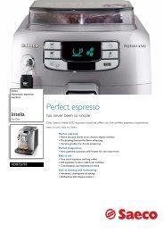 HD8752/95 Saeco Automatic espresso machine - Philips