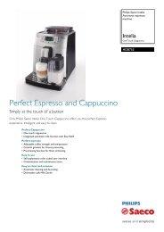 HD8753/23 Philips Automatic espresso machine - manuals ...