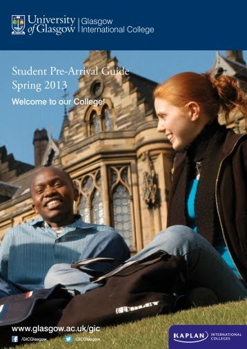 Download the pre-arrival guide - Kaplan International Colleges