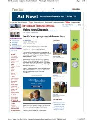 Pre-K Counts prepares children to learn - Ohio GroundWork ...