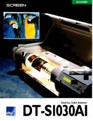 Dainippon Screen DTS 1030 AI - Professional Marketing Services, Inc.