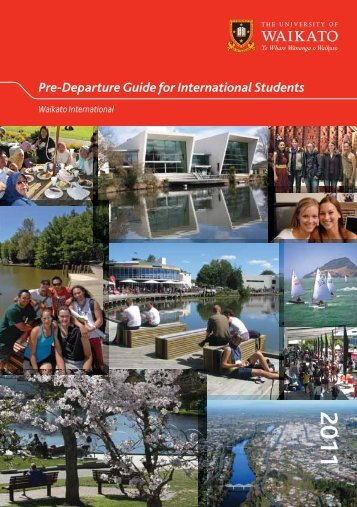 2011 Pre-Departure Guide for International Students - The Faculty of ...