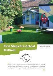 First Steps Pre-School Driffield