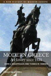 MODERN GREECE: A History since 1821 - Amazon Web Services