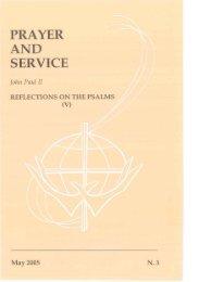 Prayer and Service Nº 3 - May 2005 - Apostleship of Prayer