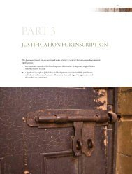 Australian convict sites - Part 3 - Department of Sustainability ...