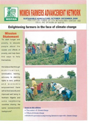 Enlightening farmers in the face of climate change - CTA Partners ...