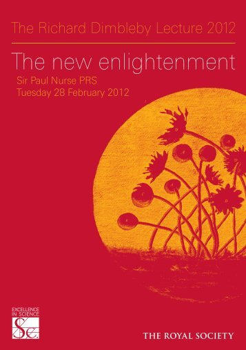 The new enlightenment - The Royal Society