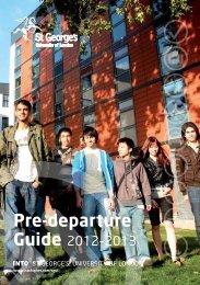 Pre-departure Guide - INTO University Partnerships