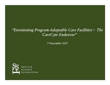 """Envisioning Program-Adaptable Care FacilitiesTM: The ... - WICHE"