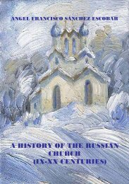 a history of the russian church - St. Stephen Harding Theological ...