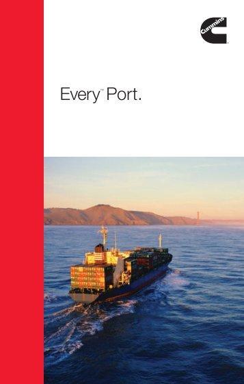 EveryTM Port. - Marine - Cummins