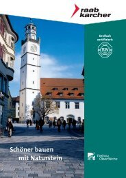 Natursteinbroschüre (7,3 MB) - Raab Karcher