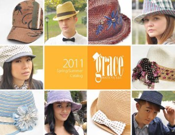 Spring 2011 Catalog - Jay and Barbie Misback