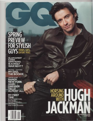 GQ Style Icon - Jeff Book
