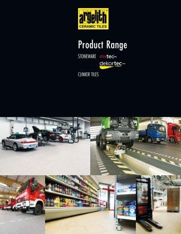 Product Range - Argelith
