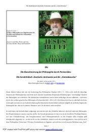 Die heraklitäisch-eleatische Antinomie und die ... - Bare-jesus.net