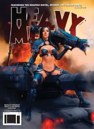FEATURING THE GRAPHIC NOVEL, WISHER: THE ... - Heavy Metal