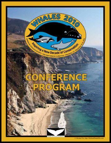 2010 Program - American Cetacean Society