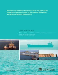 Strategic Environmental Assessment of Oil and Natural Gas ...