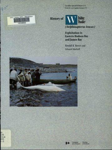 History of White Whale (Delphinapterus leucas) Exploitation in ...