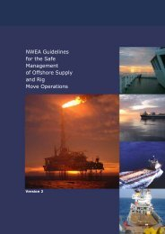 NWEA Guidelines - Marine Safety Forum