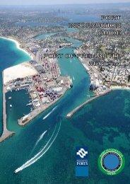 Open the Port Information Guide. - Fremantle Ports