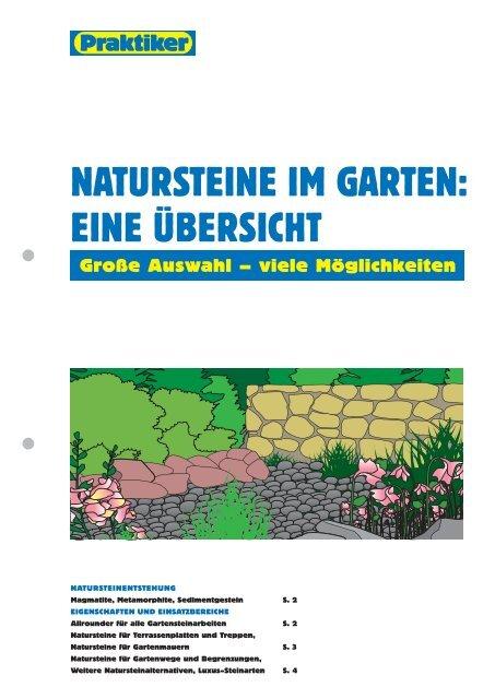 Natursteine Im Garten Eine Ubersicht Praktiker